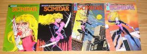 Scimidar #1-4 VF/NM complete series - jim balent - ron lim - eternity bad girl