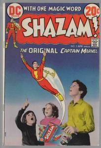 SHAZAM (1973) 2 FN April 1973 Photo infinity cover