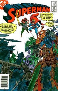 Superman (1st Series) #395 (Newsstand) VG; DC | low grade comic - save on shippi