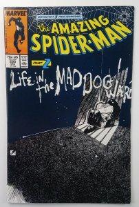 Amazing Spider-Man 295 ?BILL SIENKIEWICZ COVER ? Marvel Comics 1987 ? NM+ ?