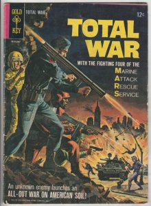M.A.R.S. Patrol Total War #1 (Jul-65) FN+ Mid-High-Grade M.A.R.S. (Sgt. Joe S...