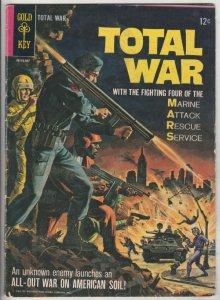 M.A.R.S. Patrol Total War #1 (Jul-65) FN+ Mid-High-Grade M.A.R.S. (Sgt. Joe S...