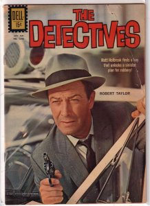 Detectives   #1240 GD (1962 Dell) Robert Taylor photo cover