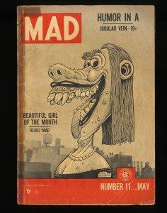Mad #11 FA/GD 1.5