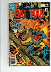 Batman #318 newsstand - 1st Firebug - 1979 - Very Fine