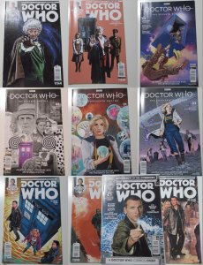 Doctor Who Mixed Lot of 10 Titan 2016 NM- Comic Book Variant Covers