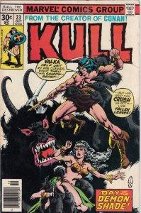 Kull the Destroyer #23 (1977) FN/VG
