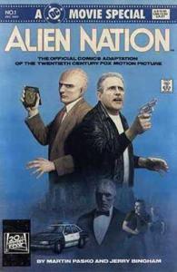 ALIEN NATION (1988) 1 VF-NM MOVIE Legal Aliens COMICS BOOK