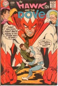 HAWK & DOVE (1968) 2 VG-F Nov. 1968 COMICS BOOK