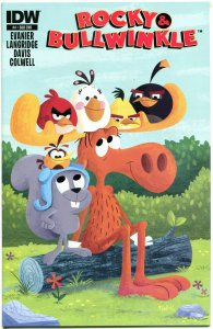 ROCKY and BULLWINKLE #4, NM, Boris, Natasha, Dudley Do-Right, 2014, Squirrel