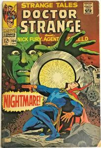 STRANGE TALES#164 VG 1968 MARVEL SILVER AGE COMICS