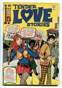 Tender Love Stories #3 1971 Skywald-Lingerie Panels-Protest cover