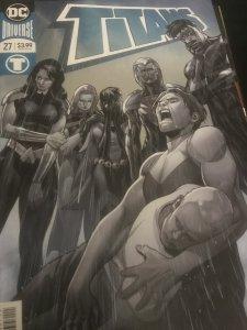 Titans #27 (2018) Foil Cover Mint