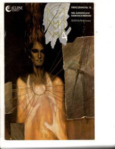 Miracleman # 18 FN/VF Eclipse Comic Book Neil Gaiman  RJ7