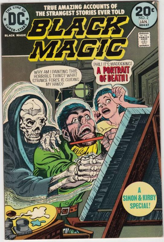 Black Magic #2 (Jan-74) VF/NM High-Grade