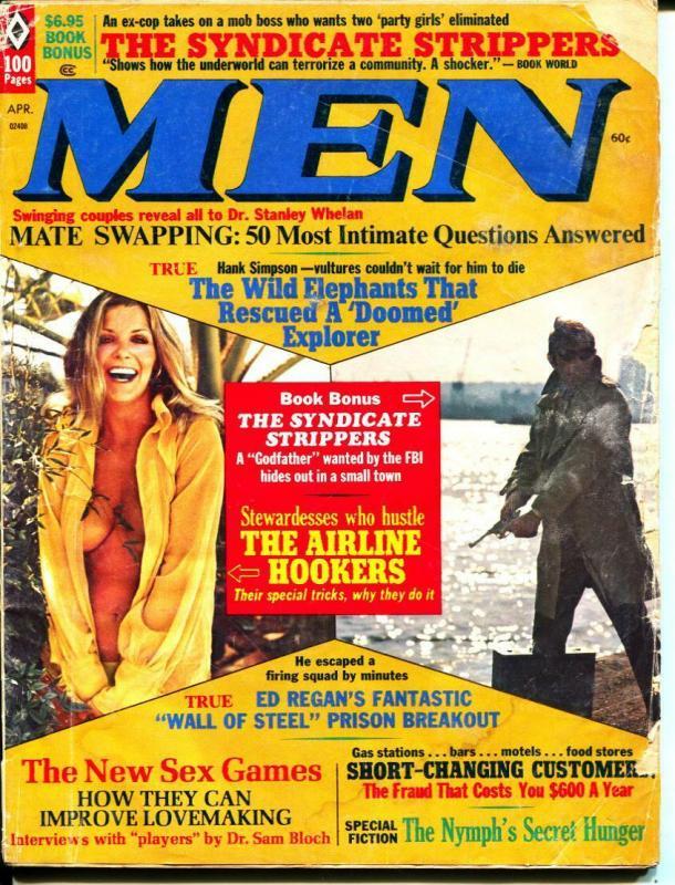 MEN-4/1972-Pussycat-Prison-Strippers-Sex-Adventure