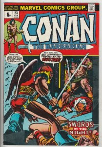 Conan the Barbarian British Variant #23 (Feb-73) VF/NM High-Grade Conan the B...