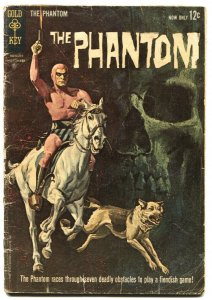 Phantom #1 1962-Gold Key-1st issue-Skull origin story