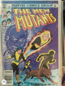 The New Mutants #1 (1983) 8.5+ VF