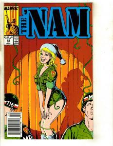 Lot of 12 The 'Nam Marvel Comics 23 34 24 25 26 27 28 29 30 32 33 35 Vietnam DS1