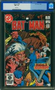 Batman #365 (DC, 1983) CGC 9.6