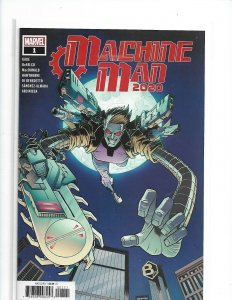 Machine Man 2020 #1 Cover A (Near Mint/Mint)  nw07