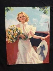 World Of Sunshine Bradshaw Crandell Pin-Up Girl Print