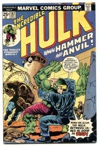 INCREDIBLE HULK #182 comic book 2nd WOLVERINE -BRONZE V/FN