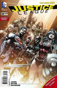 Justice League (2nd Series) #34C VF/NM; DC | save on shipping - details inside