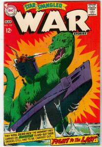 Star Spangled War Stories #137 (Mar-68) VF+ High-Grade Dinosaur