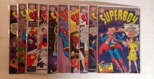 Superboy 131 132 133 134 135 136 137 138 139 140 Grades Vary Lot Set Run