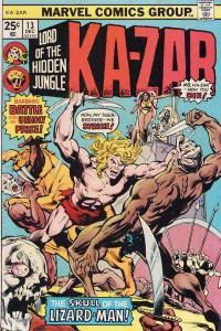 Ka-Zar (1974 series) #13, VF (Stock photo)