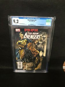 New Avengers #49 (Marvel, 2009) CGC 9.2 - 1st Dark Avengers Cameo