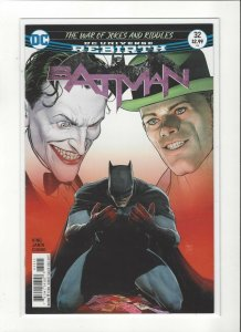 Batman #32 DC War of Joke and Riddles Catwoman Answers DC Comics Unread NM