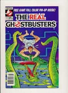 Now Comics, The Real Ghostbusters #14 1988 ~  VF (PF556)