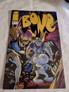 Bone 21 Very Fine/Near Mint Cover by Jeff Smith