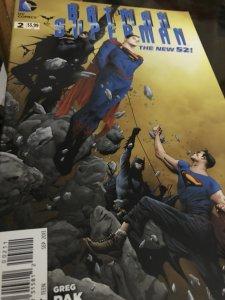 DC Batman Superman #2 Mint