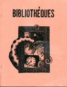 Les BIBLIOTHEQUES #1, H P Lovecraft, #58/150, VF+, 1984, rare, Softcover, LTD