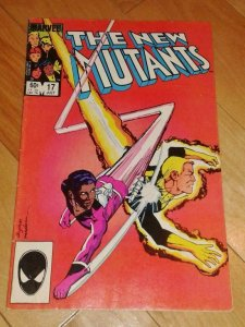 NEW MUTANTS #17, FN-, Buscema, Claremont, Marvel 1983 1984, more in store