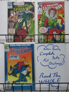 SPIDERMAN 386-388  LifeTheft  complete story arc!