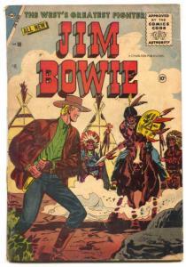 Jim Bowie Comics #16 1956- Charlton Western- 1st issue- Alamo- G/VG