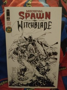 Medieval Spawn and Witchblade #2 variant edition NM