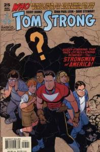 Tom Strong #25 VF; America's Best | save on shipping - details inside