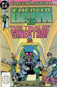 Green Lantern: Emerald Dawn II #6 FN; DC   save on shipping - details inside