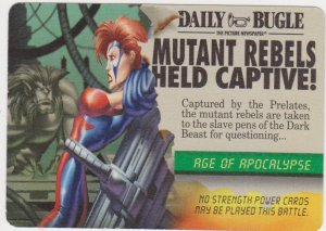 1996 Marvel Overpower Card Game