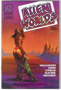 ALIEN WORLDS #1, VF, Val Mayerik, Nestor Redond , 1982, Pacific Comics