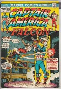 Captain America #168 (Dec-73) FN/VF Mid-High-Grade Captain America
