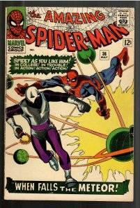 AMAZING SPIDERMAN 36VG+ 4.5 1st APPEARANCE LOOTER!