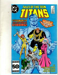 Lot of 7 Teen Titan DC Comic Books 56 55 54 53 52 51 50 Batman Joker JF10