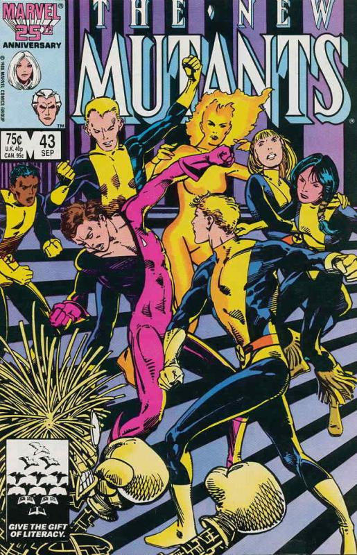 New Mutants, The #43 VF/NM; Marvel | save on shipping - details inside